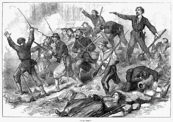 Все синдикаты примыкали к Интернационалу и принимали участие в революции 1870 года, уничтожившей империю Наполеона III, а также и в организации Парижской Коммуны