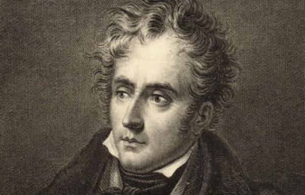 Франсуа Рене де Шатобриан (1768-1848) - французский писатель, политик и дипломат, ультрароялист, пэр Франции, консерватор