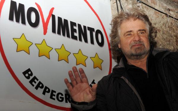 Итальянское оппозиционное «Движение пяти звёзд» (Movimento 5 Stelle), возглавляемое актером-комиком Беппе Грилло, покидает фракцию британца Найджела Фаража «Европа за свободу и демократию» (ЕСД) в Европейском парламенте (ЕП)